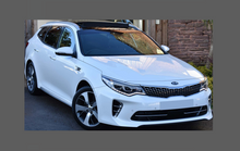 Kia Optima GT Sportline 2016-2019, Front Bumper CLEAR Paint Protection