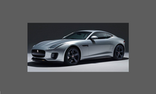 Jaguar F-Type Sport 2013- Rear Side Sill Skirt Trim (OE Style) CLEAR Shield