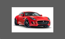 Jaguar F-Type 2013- Front Wing Rear Arch Edge CLEAR Shield