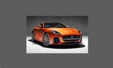 Jaguar F-Type SVR 2013- Rear Side Sill Skirt Trim (Large) CLEAR Shield