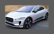 Jaguar I-Pace 2018-, Front Wing Arch CLEAR Paint Protection