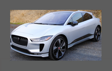 Jaguar I-Pace 2018-, Headlights CLEAR Paint Protection