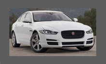 Jaguar XE Standard 2015-2019, Side Sill Skirt Trim Rear BLACK Paint Protection