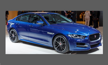 Jaguar XE (X760) 2015-, Rear Bumper Upper BLACK TEXTURED Paint Protection