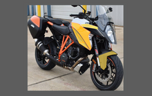 KTM Motorcycle 1290 Super Duke GT 2016-, Front Nose CLEAR Paint Protection