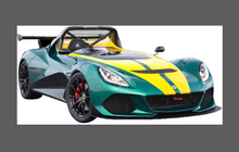 Lotus 3-Eleven 2016-2018, Front Nose CLEAR Paint Protection
