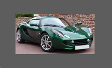 Lotus Elise S2 2001-2011, Rear QTR Sill CARBON EFFECT Paint Protection