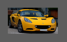Lotus Elise S3 2011- Rear QTR/Sill skirt BLACK Shield
