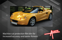 Lotus Elise S1 1996-2001, Rear QTR / Sill skirt Arches CLEAR Paint Protection