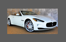 Maserati Gran Turismo (M150) 2007-, Sill Skirt Trim CLEAR Paint Protection
