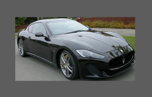 Maserati Gran Turismo (M150) 2007- Bonnet & Wings CLEAR Shield