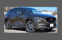 Mazda CX-5 CX5 2017-, Front Windscreen Side A-Pillars CLEAR Paint Protection