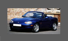 Mazda MX-5 (2nd Gen) 1999-2001 Headlights CLEAR Stone Protection