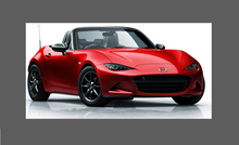 Mazda MX-5 (4th Gen) 2016-, Front Bumper CLEAR Paint Protection