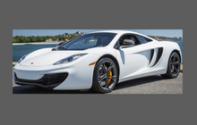 Mclaren 12C (625 / 650) 2012-2014, Rear Sill Panel QTR CLEAR Paint Protection