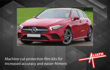 Mercedes-Benz A-Class (W177) 2018-, Front A-Pillars CLEAR Paint Protection