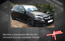 Mercedes-Benz A Class (W176) 2013-2018, Rear Bumper Upper CLEAR Paint Protection