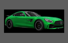Mercedes-Benz AMG GTR & GTR Pro (C190) Side Sill Skirts CLEAR Paint Protection