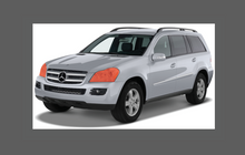 Mercedes Benz GL (X164) 2007-2012, Headlights CLEAR Stone Protection