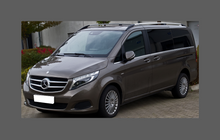 Mercedes-Benz Vito (W447 Facelift) 2014-Present, Front & Rear Arches CLEAR Paint Protection