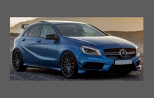 Mercedes-Benz A Class (W176) 2013-, AMG Sport Lower Wing,Sill & Door CLEAR Paint Protection