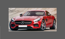 Mercedes-Benz AMG GT GTS GTR (C190) 2015-, Bonnet & wings SMALL CLEAR Paint Protection
