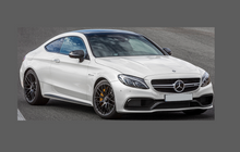 Mercedes-Benz C Class C63 (W205) Bonnet & Wings CLEAR Paint Protection