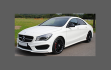 Mercedes-Benz CLA Class (W176) 13-18, Door Mirror Covers CLEAR Paint Protection