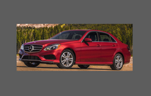 Mercedes-Benz E Class (W212 Facelift) A-Pillars CLEAR Shield