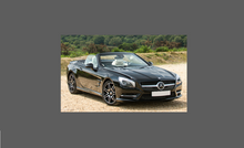 Mercedes-Benz SL Class (R231) Side Sill Skirt Trims CLEAR Paint Protection