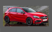 Mercedes-Benz A45 AMG Aero (W176 Facelift)16-18, Front Bumper CLEAR Paint Protection