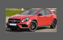 Mercedes-Benz GLA Class (X156), Rear Door Arch CLEAR Paint Protection