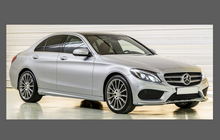 Mercedes-Benz C Class (W205) A-Pillars CLEAR Paint Protection