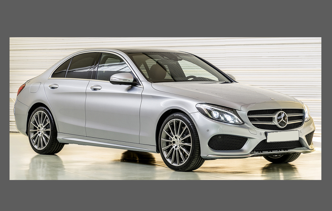 Mercedes-Benz C Class (W205) Headlights CLEAR Stone Protection – Aliath