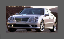 Mercedes-Benz E Class (W211) Door Mirror Covers CLEAR Paint Protection