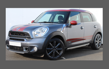 Mini Countryman (Type R60) 2010-2017, Rear Bumper Upper CLEAR Paint Protection