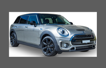 Mini Clubman S (Type F54) 2016-, Front Bumper CLEAR Paint Protection