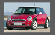 Mini Cooper S (BMW) 2001-2006 Front Bumper CLEAR Paint Protection