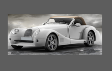 Morgan Aero 8 2001-2010 Side Sill Panel Step (No Exhaust) CLEAR Paint Protection