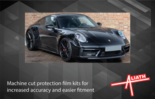 Porsche 911 (992) 2020-Present, Rear QTR / Wing CLEAR Paint Protection