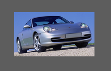 Porsche 911 (996) 2002-2005 Arch Edges Set CLEAR Paint Protection