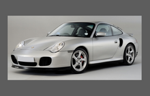 Porsche 911 Turbo (996) 2002-2005 Large Rear QTR / Wing CLEAR Paint Protection