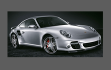 Porsche 911 Turbo (997) 2006-2012 Large Rear QTR / Wing CLEAR Paint Protection