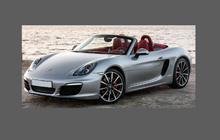 Porsche Boxster / Cayman 981 (2012-2016) Side Sill Skirt CLEAR Paint Protection