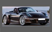 Porsche Boxster / Cayman (987 Gen.2) 2008-2012 Headlights CLEAR Stone Protection