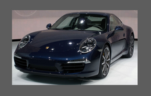 Porsche 911 (991) 2011-2020 , Rear QTR / Wing CARBON EFFECT Paint Protection