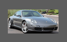 Porsche 911 Base / Targa / 4 / S / C4S (997) 2005-2008 Front Bumper CLEAR Paint Protection
