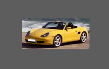 Porsche Boxster 986 1996-2004 Bonnet & Wings CLEAR Shield