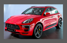 Porsche Macan (Type 95B) 2014- Door Handle Cups CLEAR Paint Protection