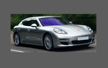 Porsche Panamera (Type 970) Rear Door Arch Panel BLACK TEXTURED Paint Protection